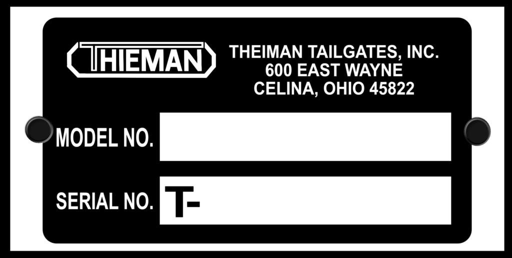 Thieman ID Tag