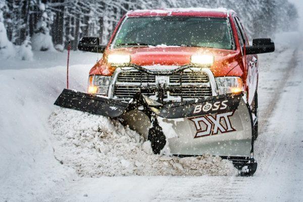 BOSS DXT Plow From Intercon Truck