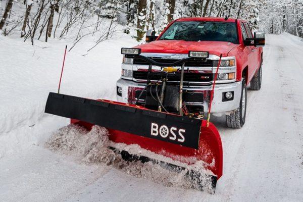 BOSS Heavy Duty Plows From Intercon Truck