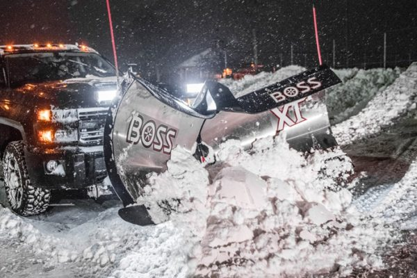 BOSS V XT Plow From Intercon Truck