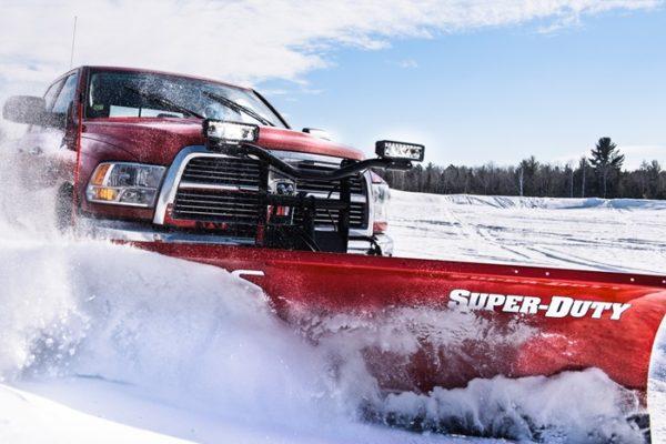BOSS Super Duty Plows From Intercon Truck