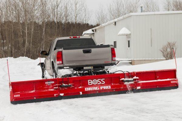 BOSS Drag Pro Plow From Intercon Truck